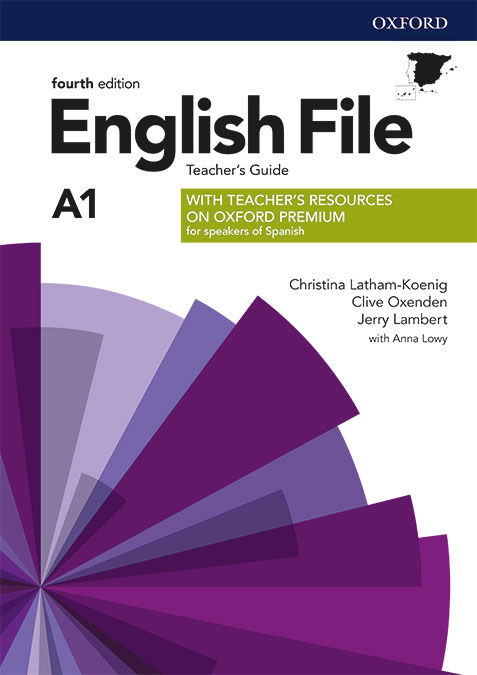 ENGLISH FILE 4TH EDITION A1 TEACHER'S GUIDE + TEACHER'S RESOURCE PACK