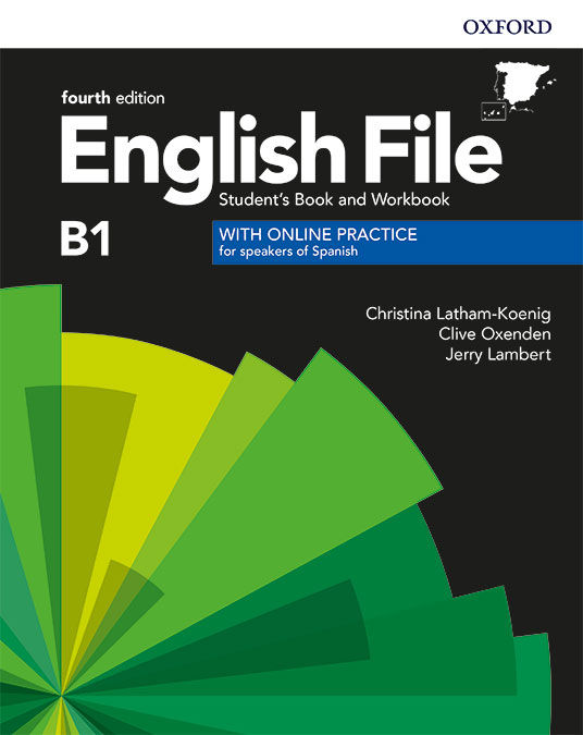 ENGLISH FILE INTERMEDIATE PACK STUDENT'S BOOK + WORKBOOK WITH KEY + CD ROM