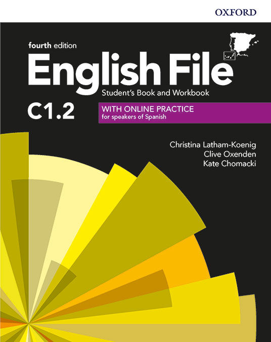 ENGLISH FILE 4TH EDITION C1.2. STUDENT'S BOOK AND WORKBOOK WITH KEY PACK