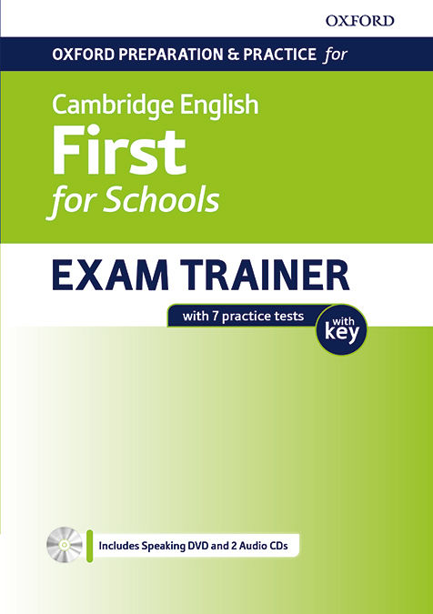 CAMBRIDGE ENGLISH FIRST FOR SCHOOL STUDENT'S BOOK WITH KEY PACK