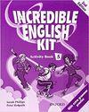 INCREDIBLE ENGLISH KIT 5 AB 3ED