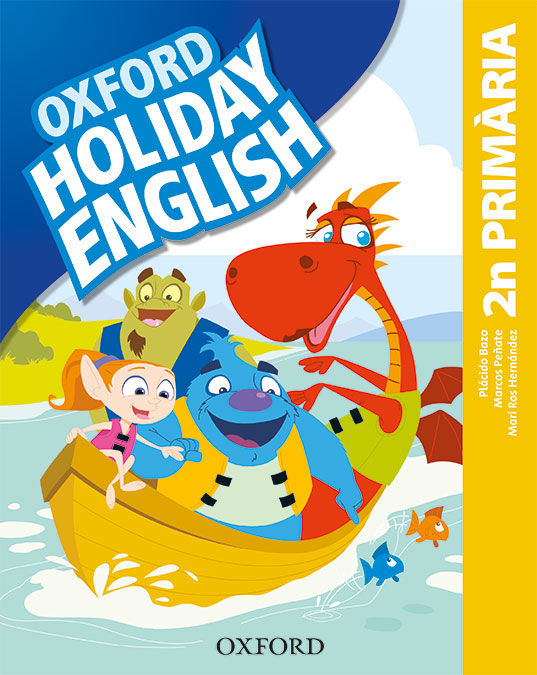 HOLIDAY ENGLISH 2º PRIMARIA PACK CATALA 3RD EDITION