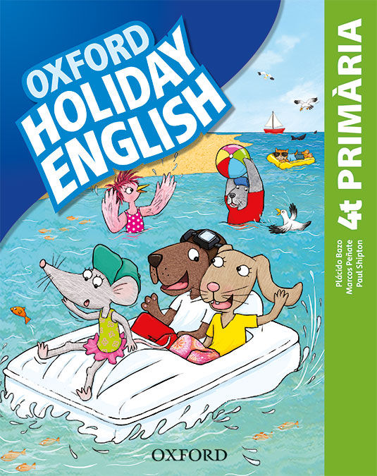 HOLIDAY ENGLISH 4 º PRIMARIA PACK CATALA 3RD EDITION