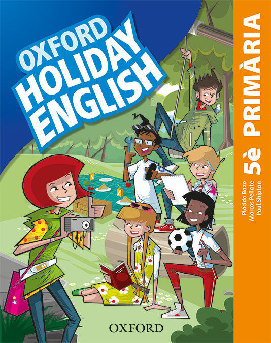 HOLIDAY ENGLISH 5 º PRIMARIA PACK CATALA 3RD EDITION