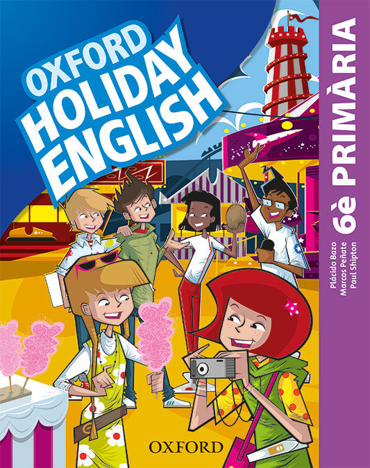 HOLIDAY ENGLISH 6 º PRIMARIA PACK CATALA 3RD EDITION