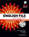 ENGLISH FILE ELEMENTARY: STUDENT'S BOOK AND WORKBOOK WITHOUT ANSWER KEY PACK 3RD