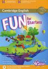 FUN FOR STARTERS. STARTER LEVEL (4 EDITION) STUDENT'S BOOK WITH HOME FUN BOOKLET