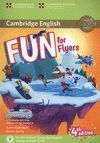 FUN FOR FLYERS (4 EDITION) STUDENT'S BOOK WITH HOME FUN BOOKLET AND ONL