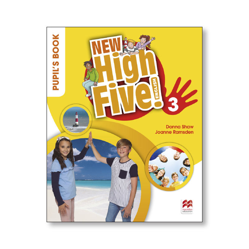 HIGH FIVE ENG 3 ALUM NEW