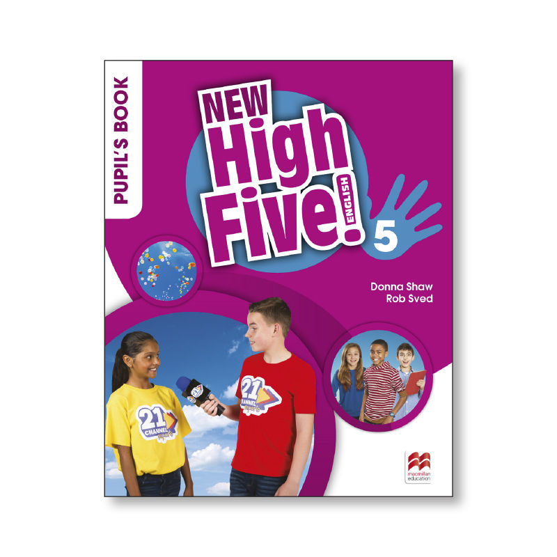 HIGH FIVE ENG 5 ALUM NEW