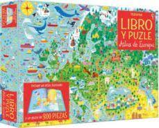ATLAS DE EUROPA LIBRO PUZZLE