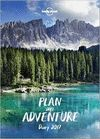 LONELY PLANET PLAN AN ADVENTURE DIARY PLANER 2017