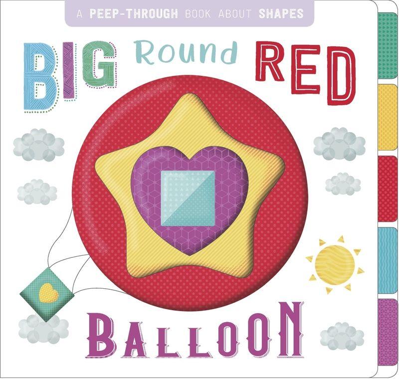 BIG ROUND RED BALLOON - ING