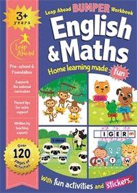LEAP AHEAD BUMPER WORKBOOK: 3 YEARS ENGLISH & MATHS