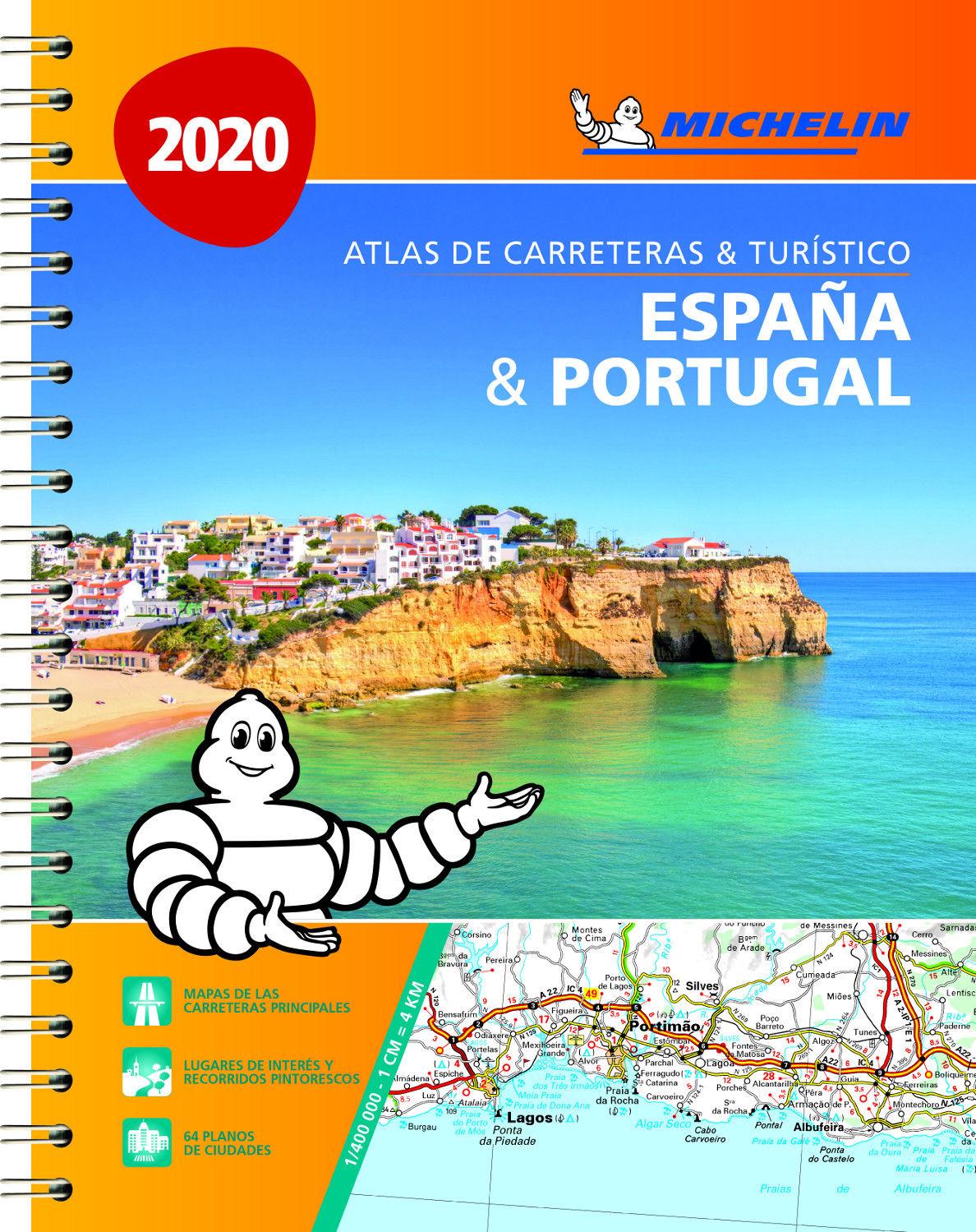 ATLAS ESPAÑA & PORTUGAL 2020 (A4)