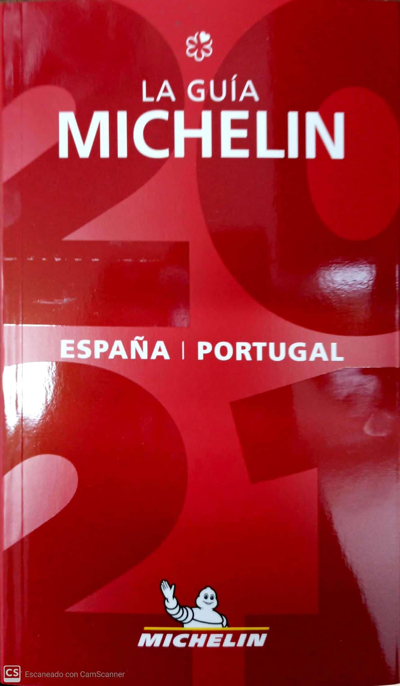 GUIA MICHELIN ESPAÑA PORTUGAL 2021