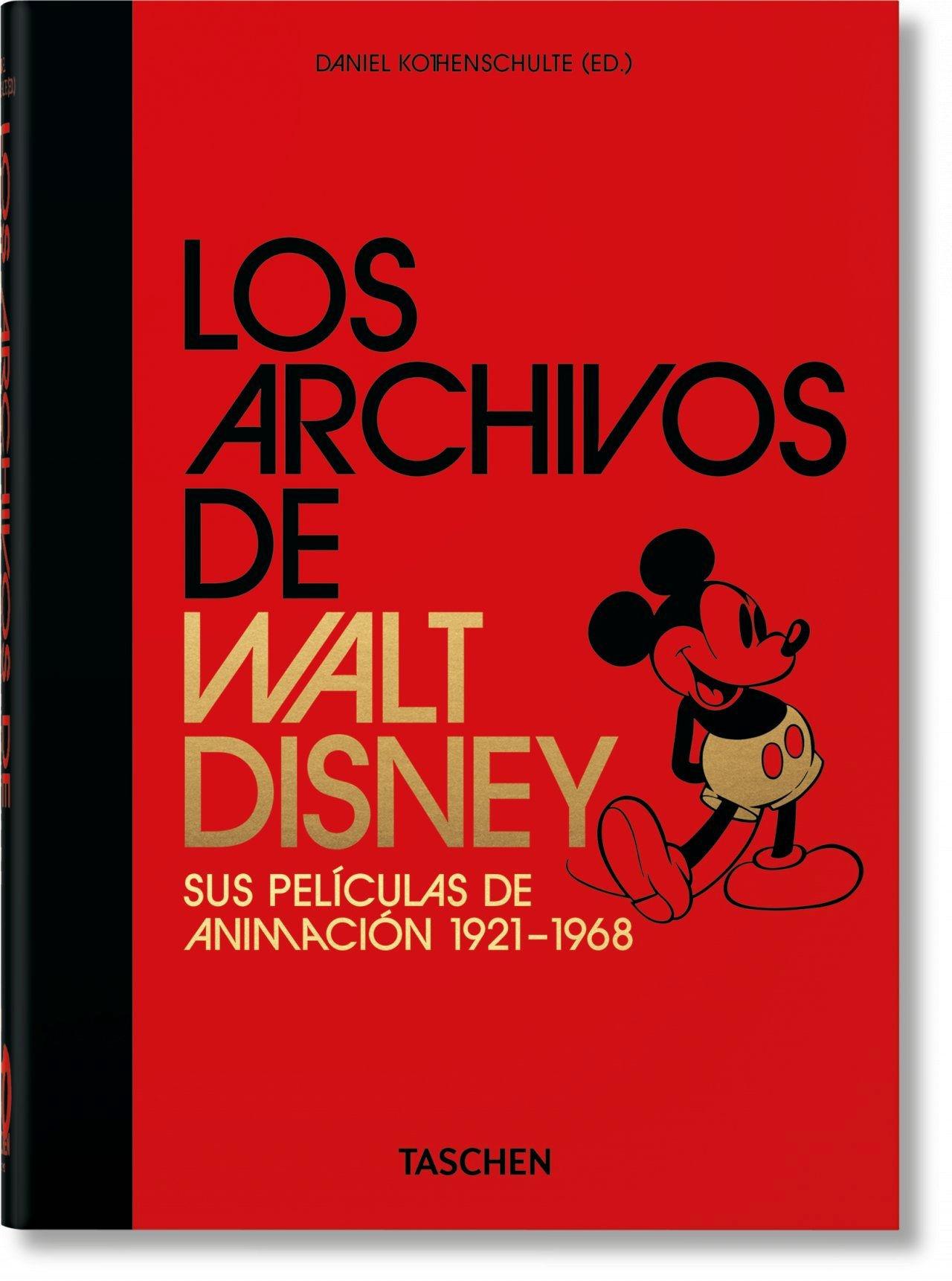 ARCHIVOS DE WALT DISNEY: SUS PELÍCULAS DE ANIMACION