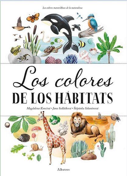 COLORES DE LOS HABITATS LOS