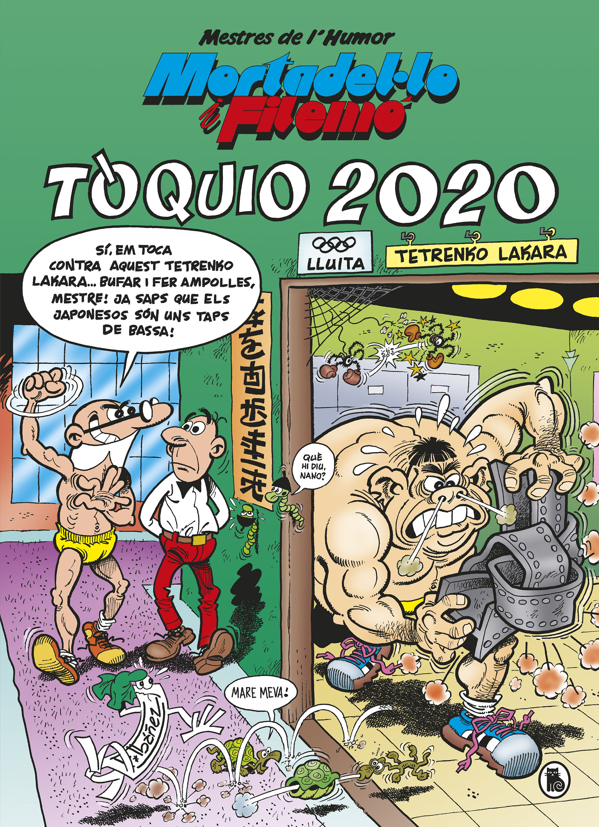 MORTADELO I FILEMON TÒQUIO 2020