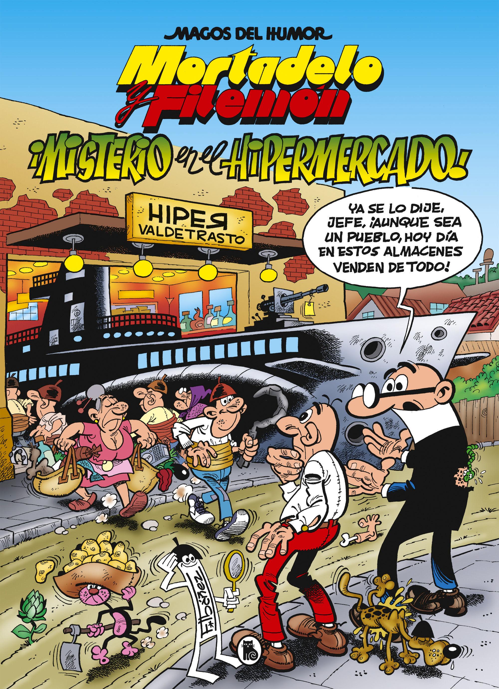 MAGOS DEL HUMOR MORTADELO Y FILEMON 205 MISTERIO EN EL HIPERMERCADO