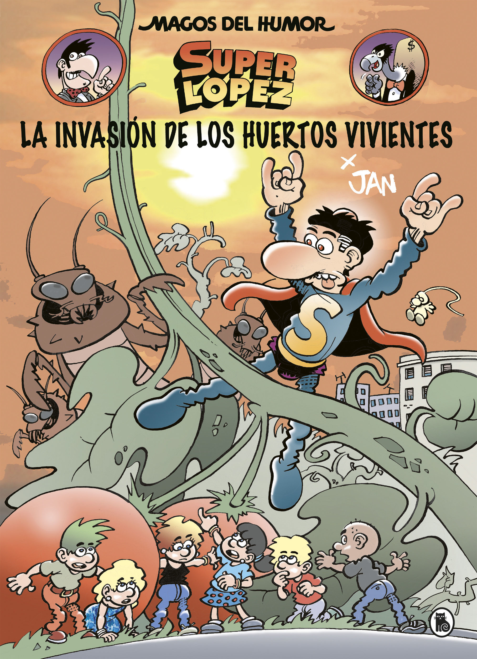 MAGOS DEL HUMOR SUPERLOPEZ 207.INVASION