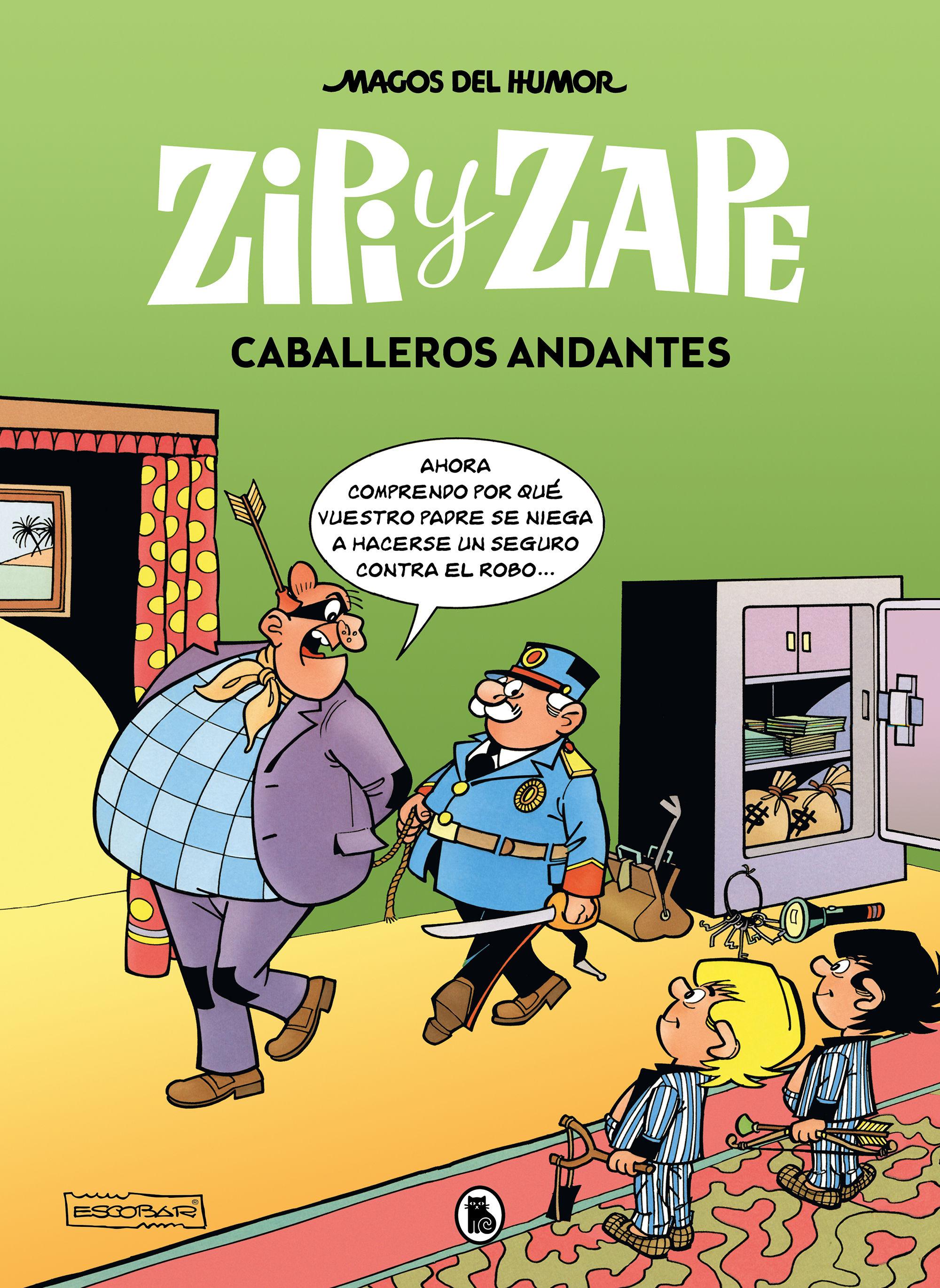 MAGOS DEL HUMOR 210 ZIPI ZAPE CABALLEROS