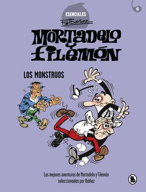 MORTADELO Y FILEMON LOS MONSTRUOS
