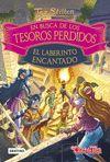 TEA STILTON EN BUSCA DE LOS TESOROS PERDIDOS 3 EL LABERINTO ENCANTADO