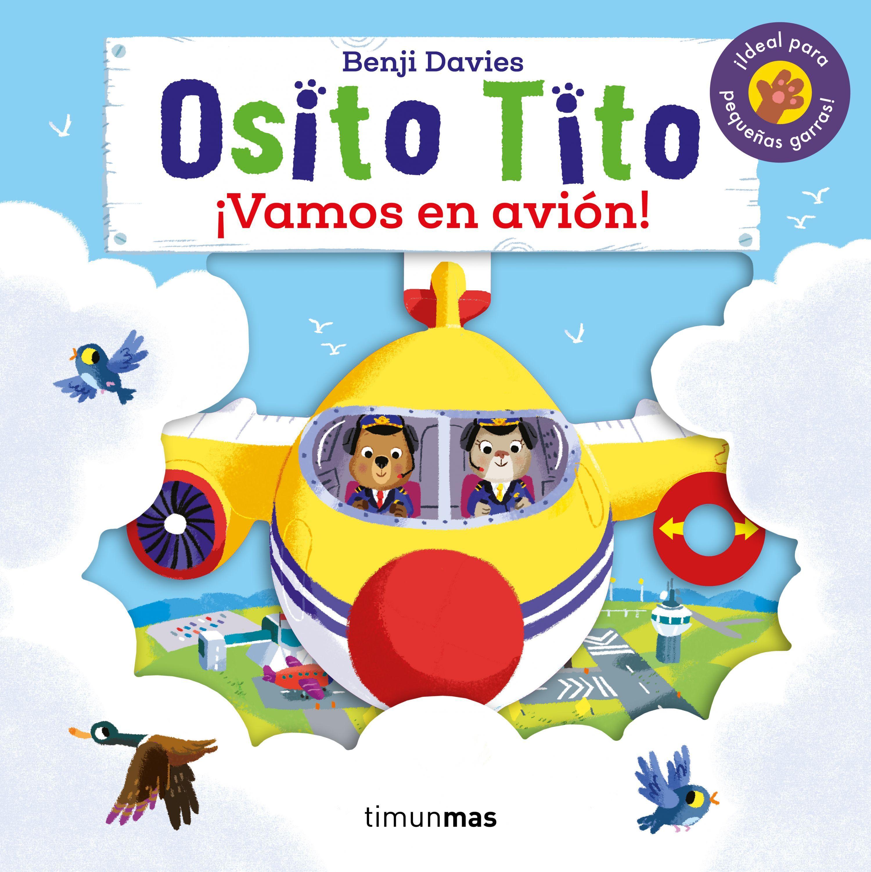 OSITO TITO VAMOS EN AVIÓN