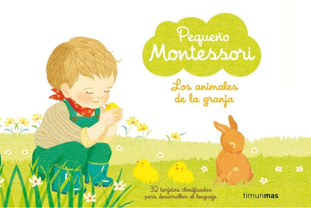 PEQUEÑO MONTESSORI  ANIMALES DE GRANJA