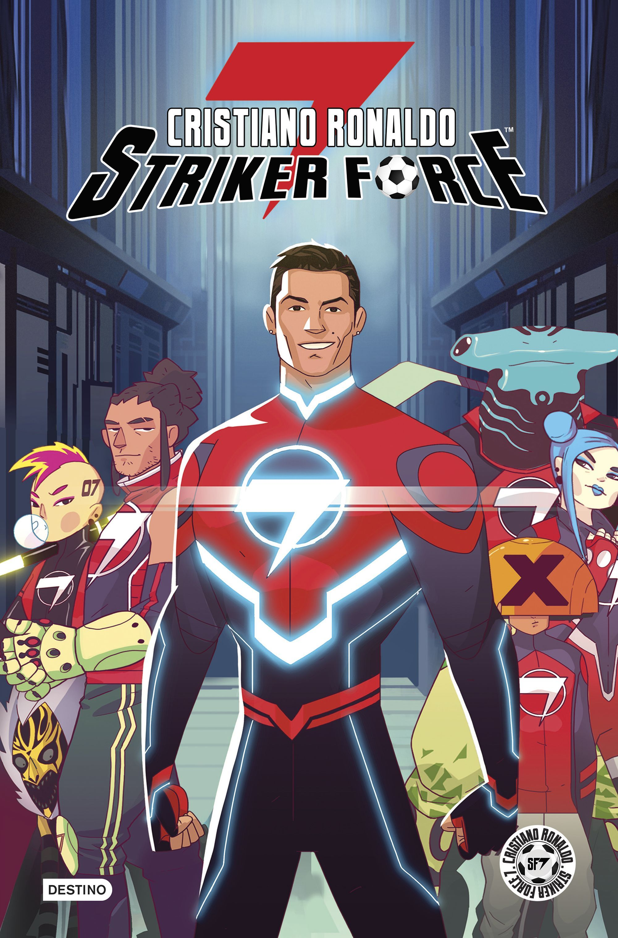 CRISTIANO RONALDO STRIKER FORCE 7 VOLUMEN 1