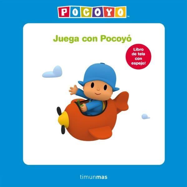 JUEGA CON POCOYO LIBRO DE TELA