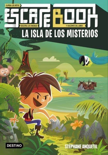 ESCAPE BOOK LA ISLA DE LOS MISTERIOS