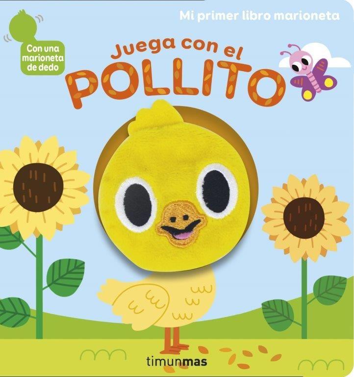JUEGA CON EL POLLITO LIBRO MARIONETA
