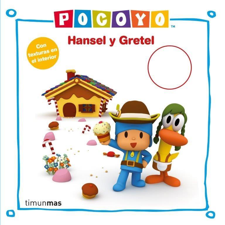 POCOYO HANSEL Y GRETEL CON TEXTURAS