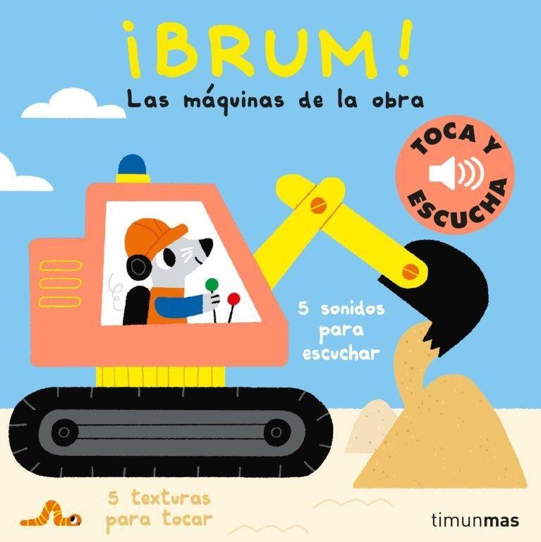 BRUM TOCA Y ESCUCHA LAS MAQUINAS DE LA OBRA