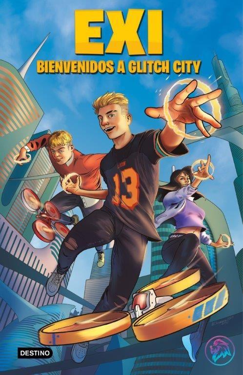 EXI BIENVENIDOS A GLITCH CITY