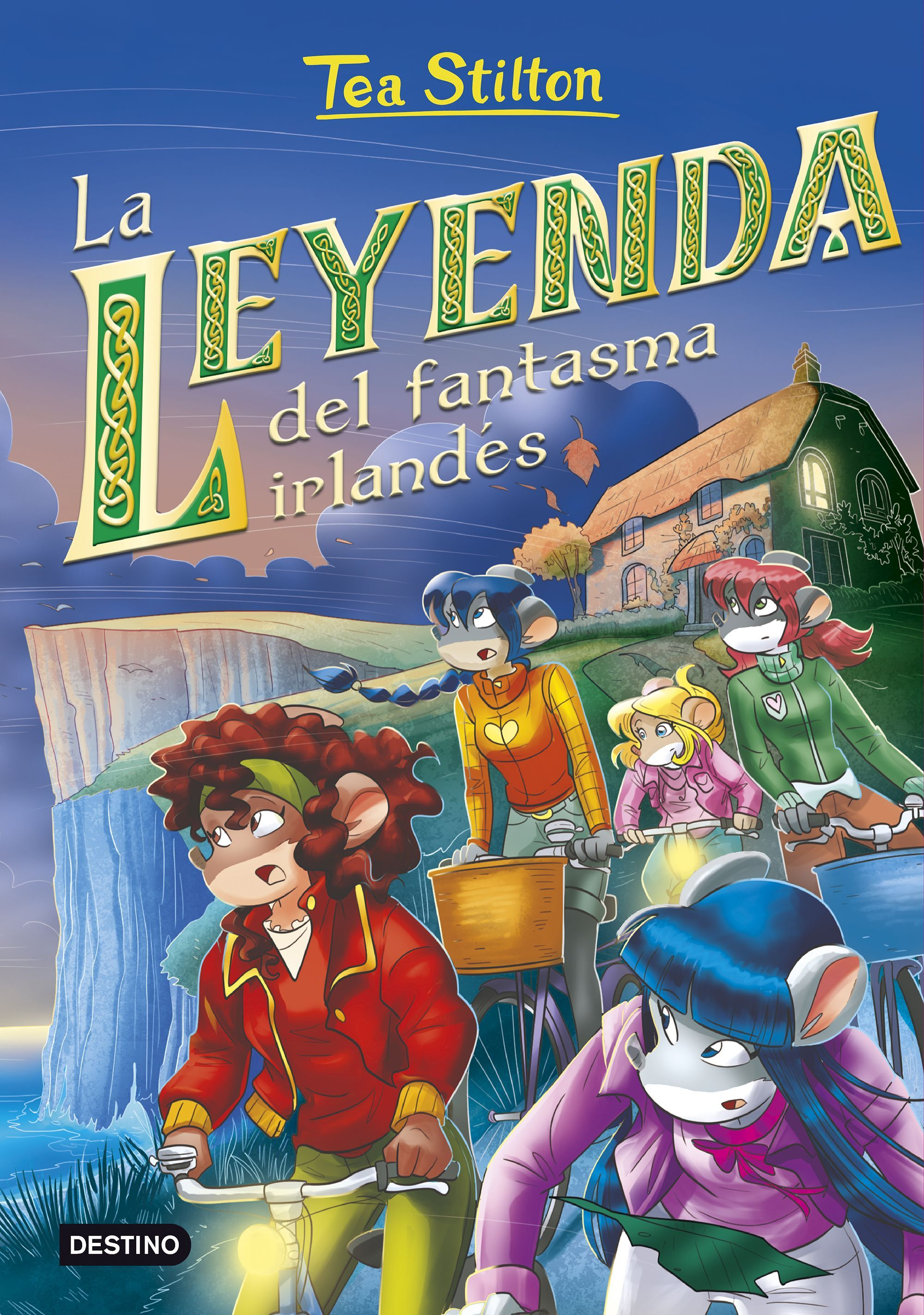 TEA STILTON 41 LA LEYENDA DEL FANTASMA IRLANDES