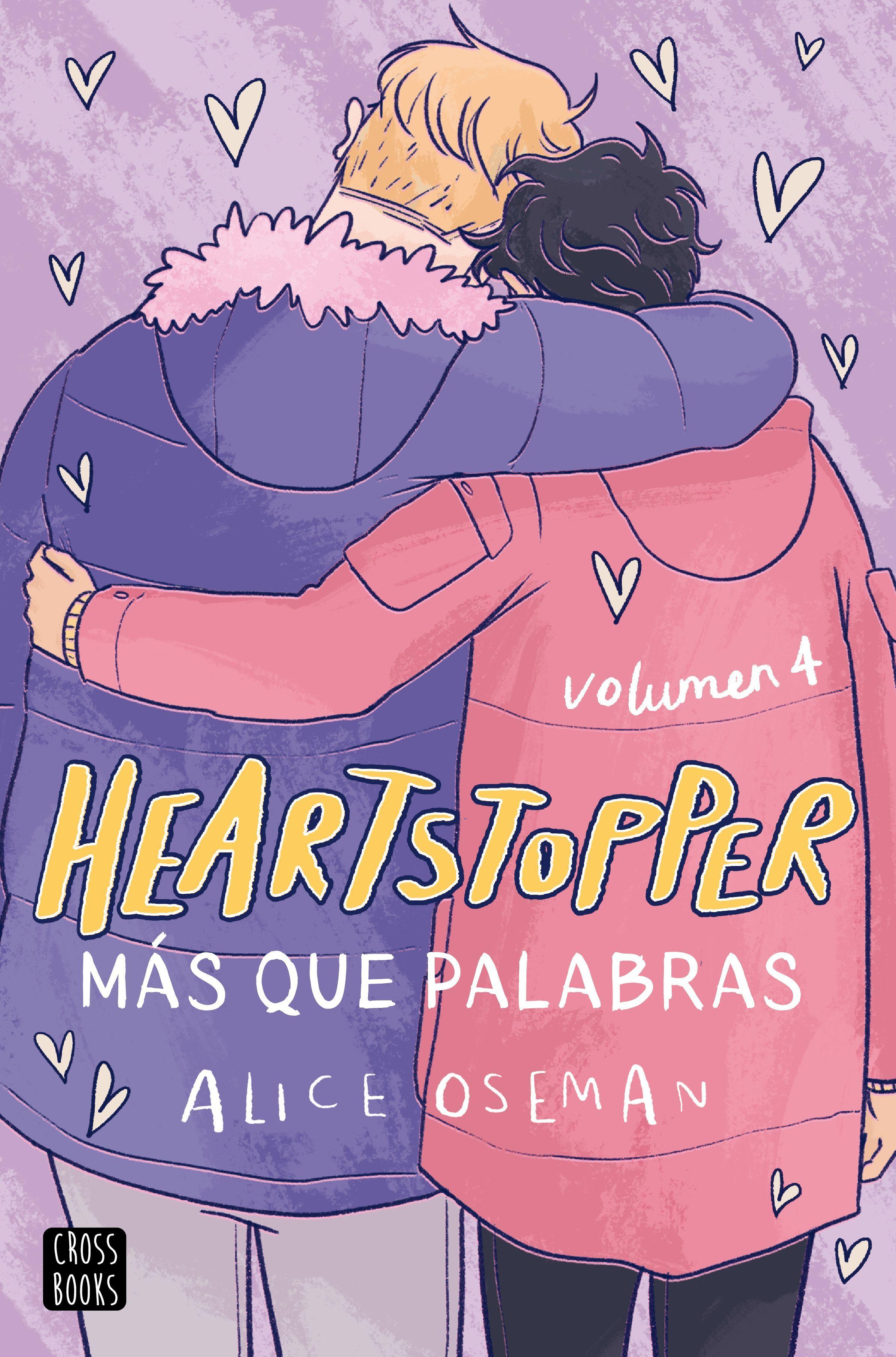 HEARTSTOPPER 4 MAS QUE PALABRAS