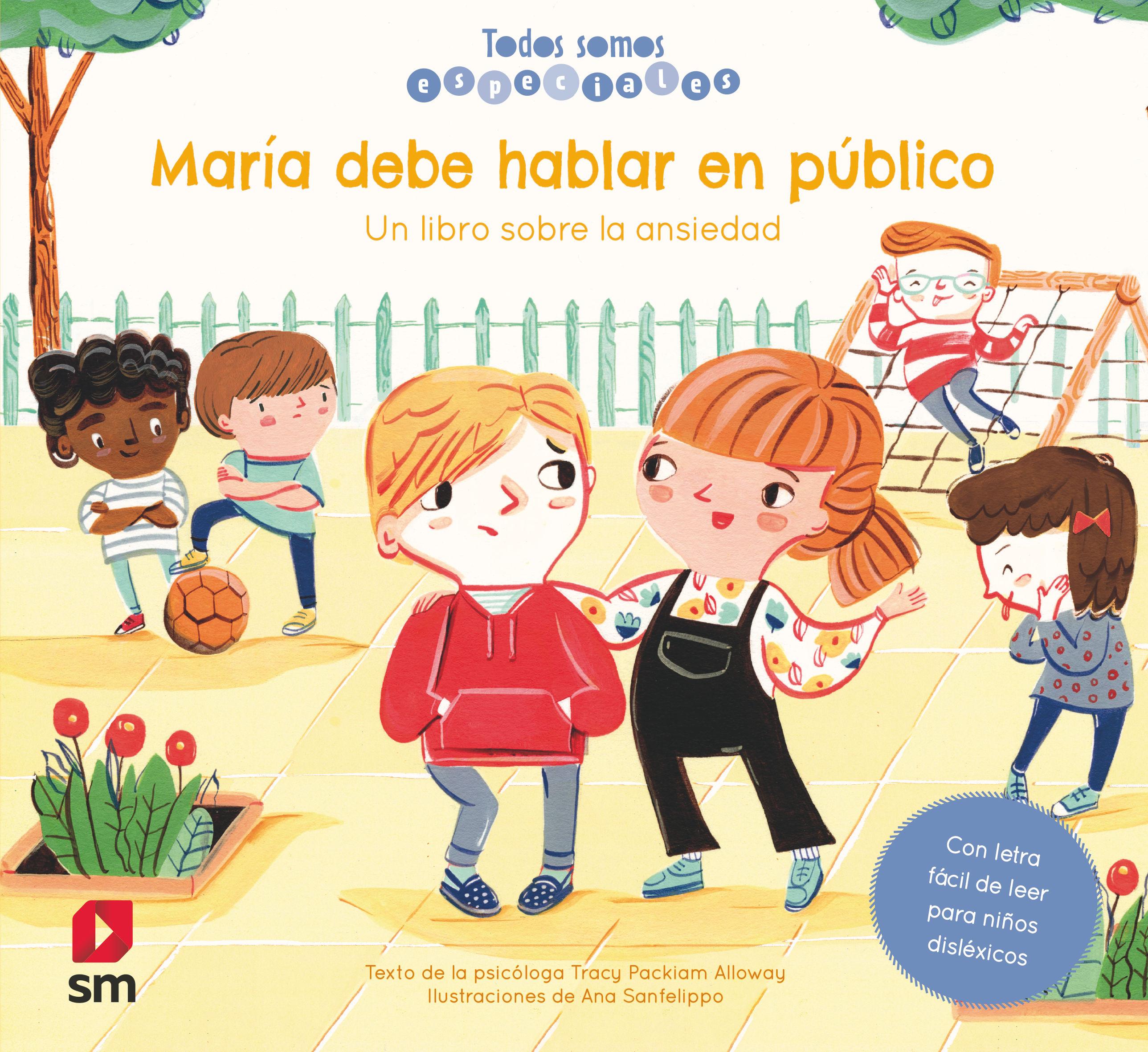 MARIA DEBE HABLAR EN PUBLICO TODOS SOMOS ESPECIALES