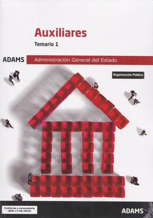 TEMARIO 1 AUXILIARES DE LA ADMINISTRACIÓN GENERAL DEL ESTADO