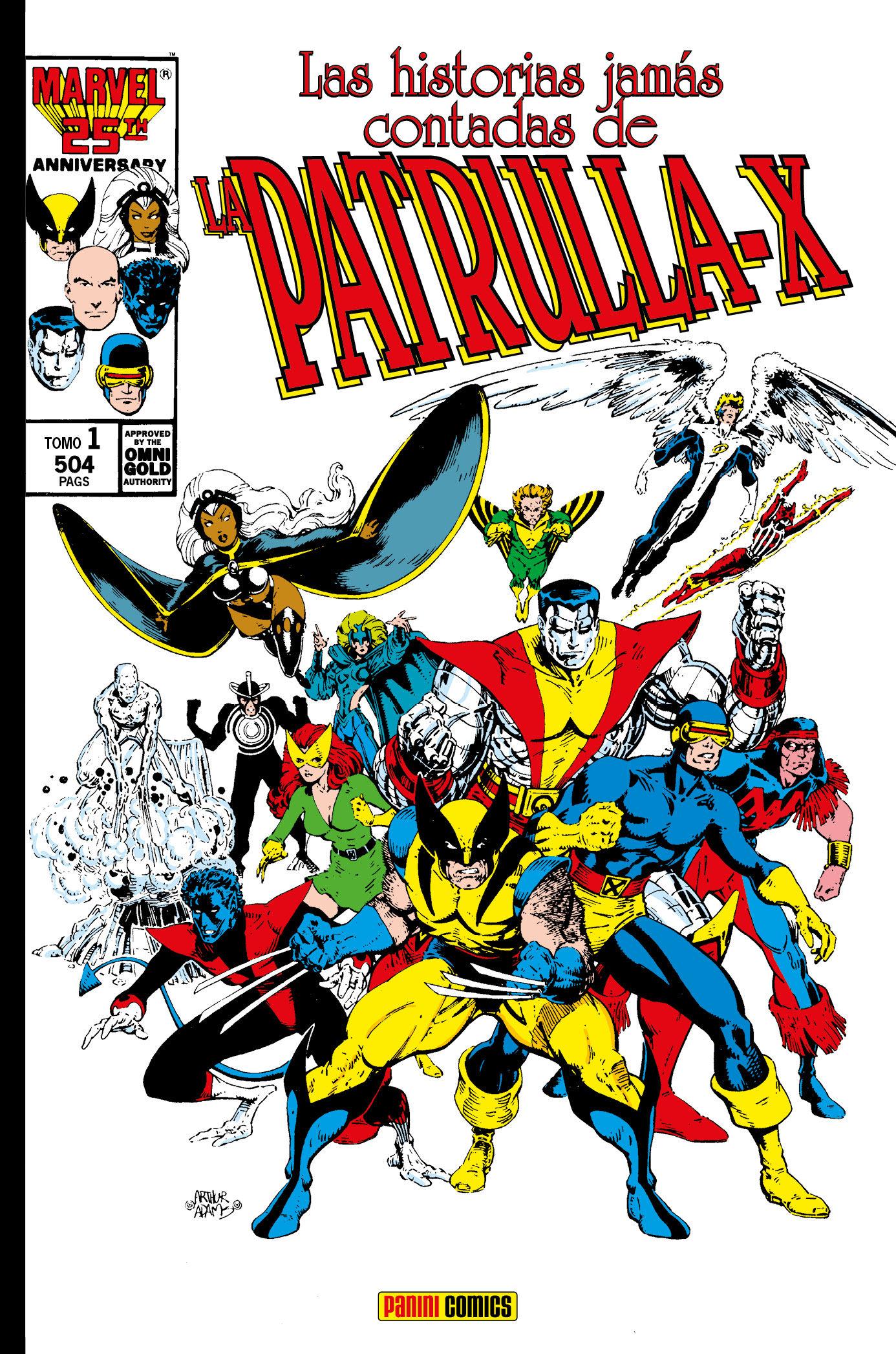 HISTORIAS JAMAS CONTADAS DE LA PATRULLA-X 01