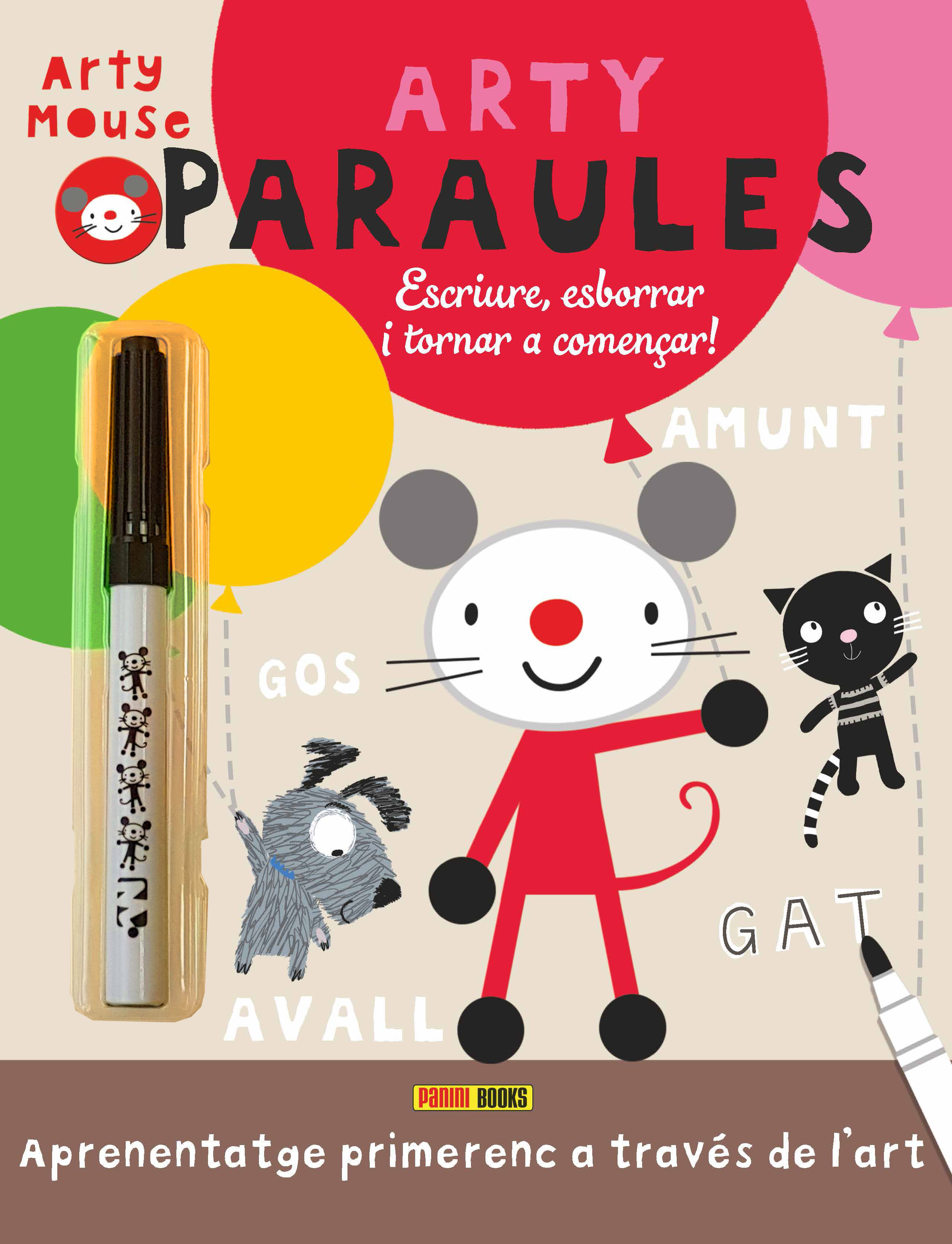 ARTY MOUSE ARTY PARAULES