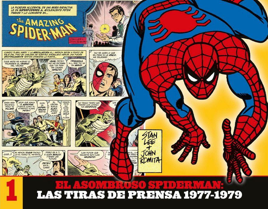 TIRAS PRENSA 1977-1979 ASOMBROSO SPIDERMAN VOL 1
