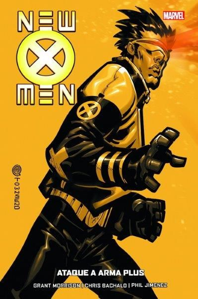 NEW X MEN 5 DE 7 ATAQUE A ARMA PLUS