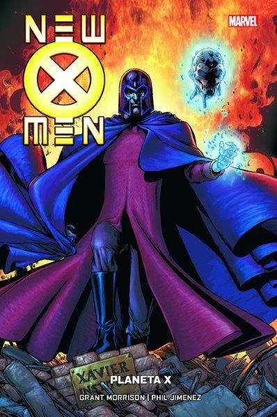 NEW X MEN 6 DE 7 PLANETA X