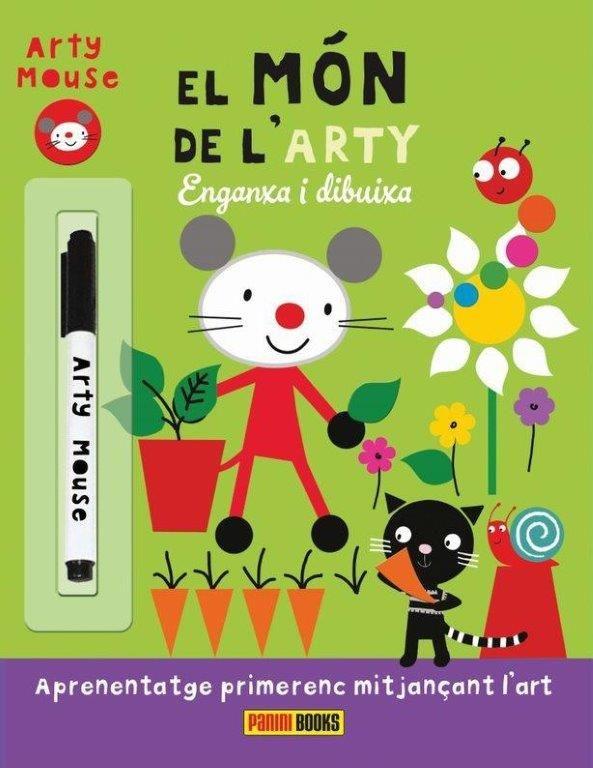 MON DE L ARTY EL ENGANXA I DIBUIXA