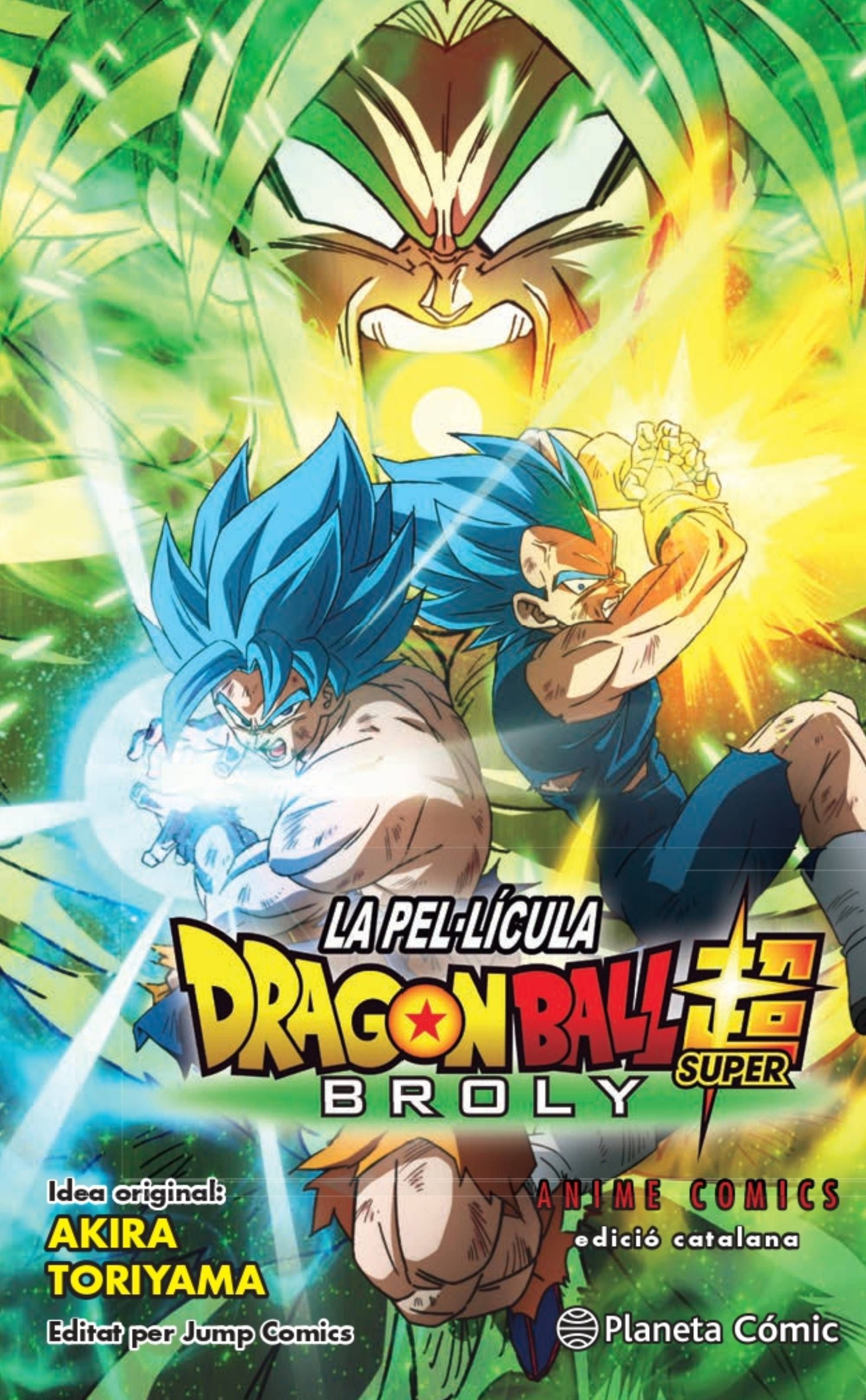 BOLA DE DRAC SUPER BROLY ANIME COMIC