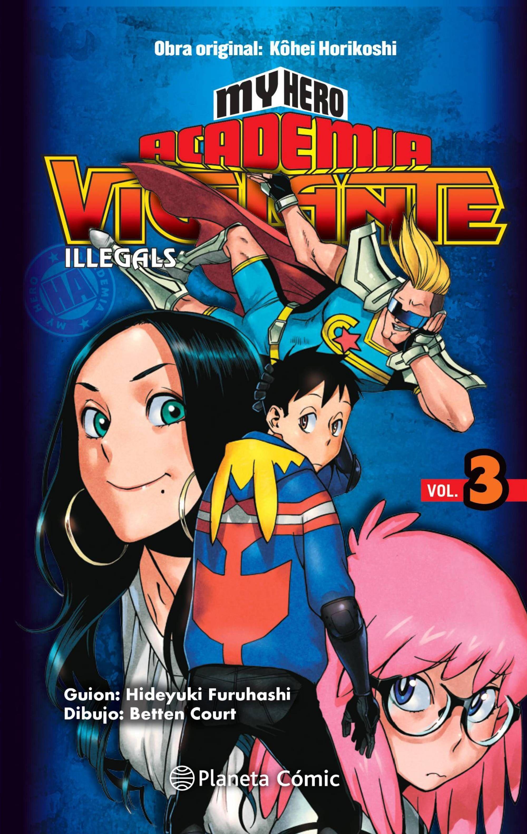 MY HERO ACADEMIA VIGILANTE ILLEGALS Nº03
