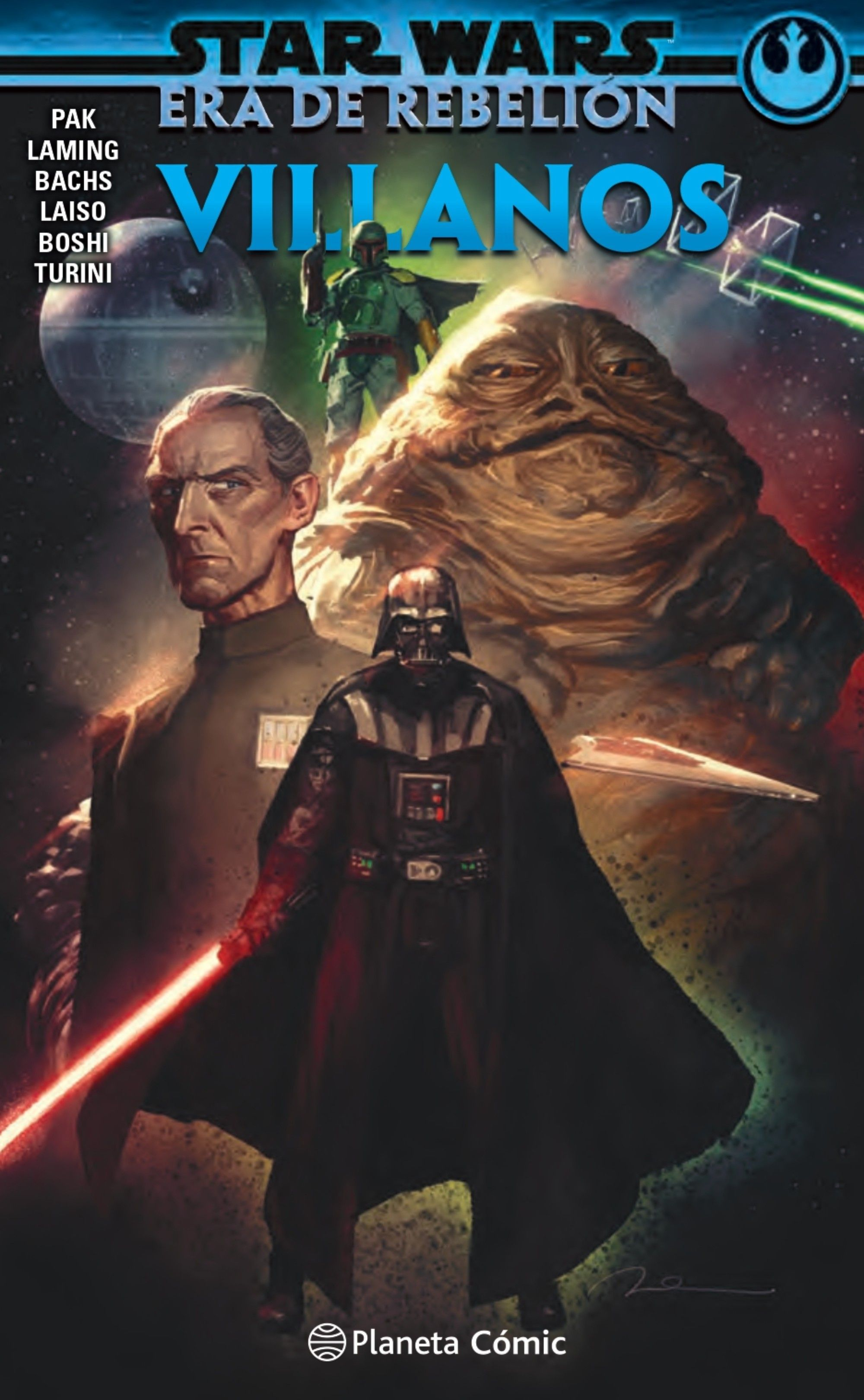STAR WARS ERA DE LA REBELIÓN: VILLANOS